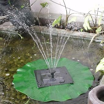 Westbury Floating Solar Lilly Water Feature with Lights