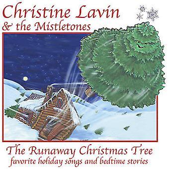 Christine Lavin & Mistletones - Runaway juletræ [CD] USA importerer