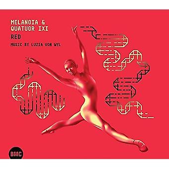 Melanoia Ixi & Quatuor - Red [CD] USA import