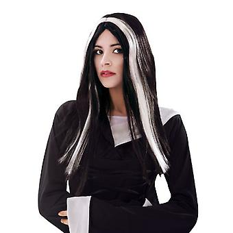 My Other Me Witch Wig Black And White (Costumes)
