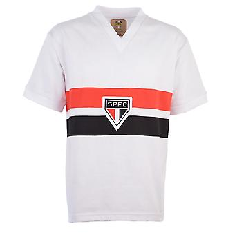 Sao Paulo 1970s Retro Football Shirt