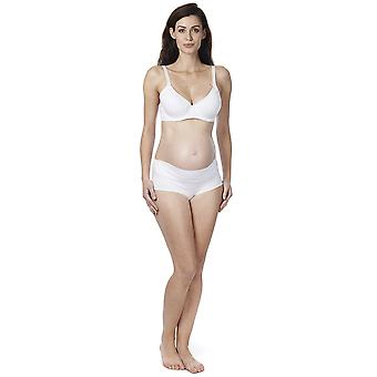 Noppies Basic Cotton White Padded Nursing Bra 90000-01