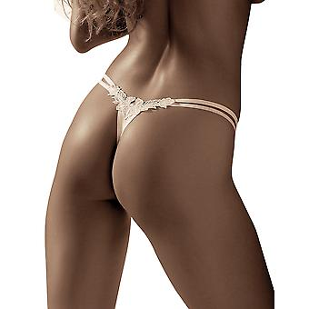 Roza Agnez White String Thong