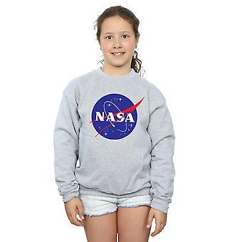 La NASA filles insigne classique Logo Sweatshirt