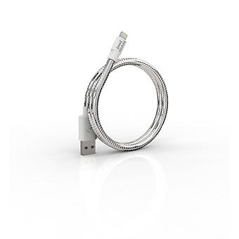 FUSE CHICKEN sync cable Lightning TITANIUM TRAVEL 0.5 m Silver