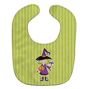 Carolines Treasures  BB9155BIB Halloween Witch Baby Bib