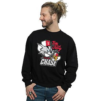 Tom And Jerry Men's Cat & Mouse Chase Sweatshirt