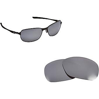 C-Wire Replacement Lenses Polarized Silver Mirror by SEEK fits OAKLEY Sunglasses