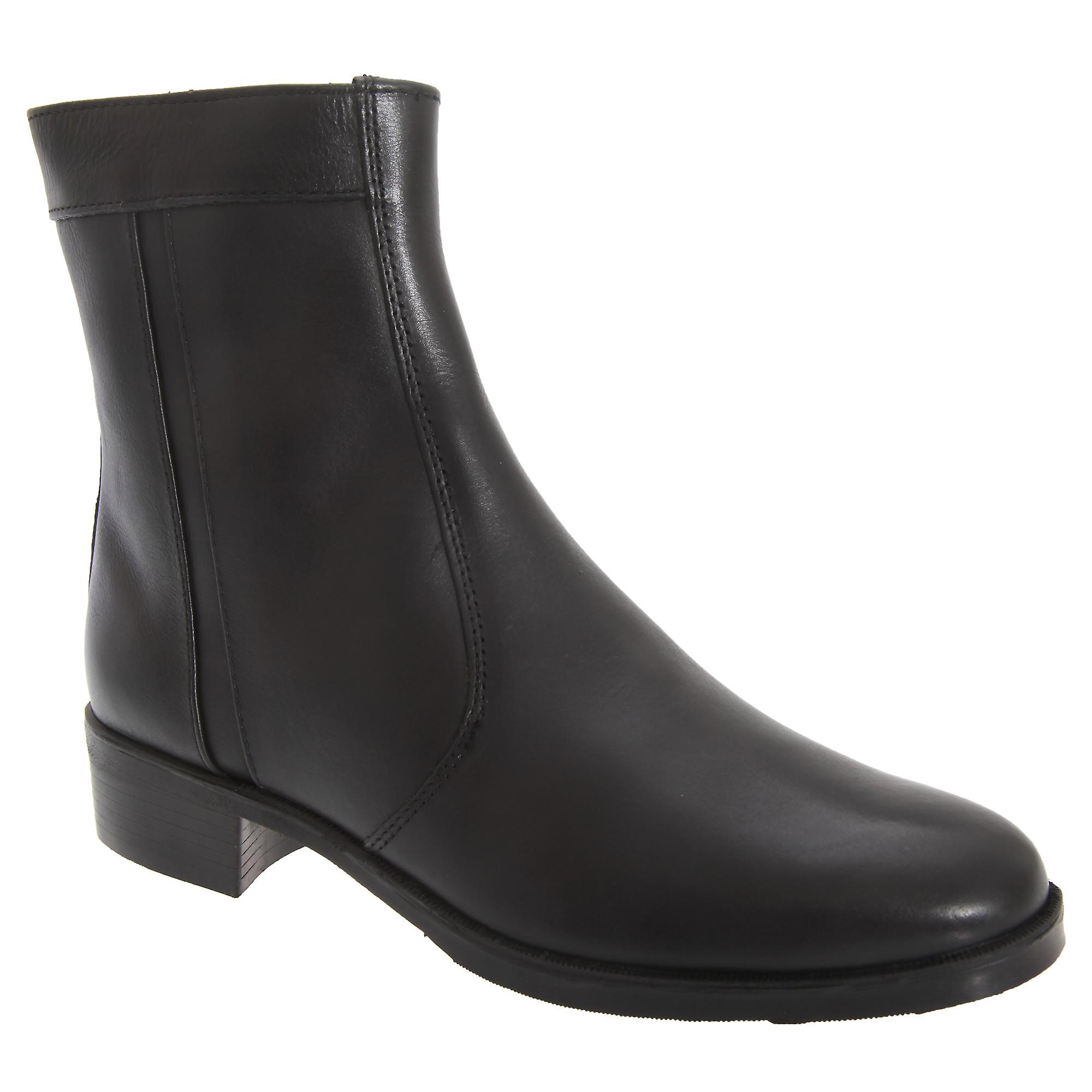 Sole Inside Mens Boots Resin Scimitar Lined Zip wXUxx4q