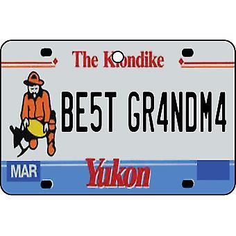 YUKON - Best Grandma License Plate Car Air Freshener