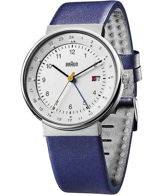 Braun Uhren Herrenuhr Classic BN0142WHBLG-66556