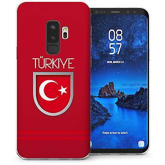 Samsung Galaxy S9 met Turkije World Cup TPU Gel koffer