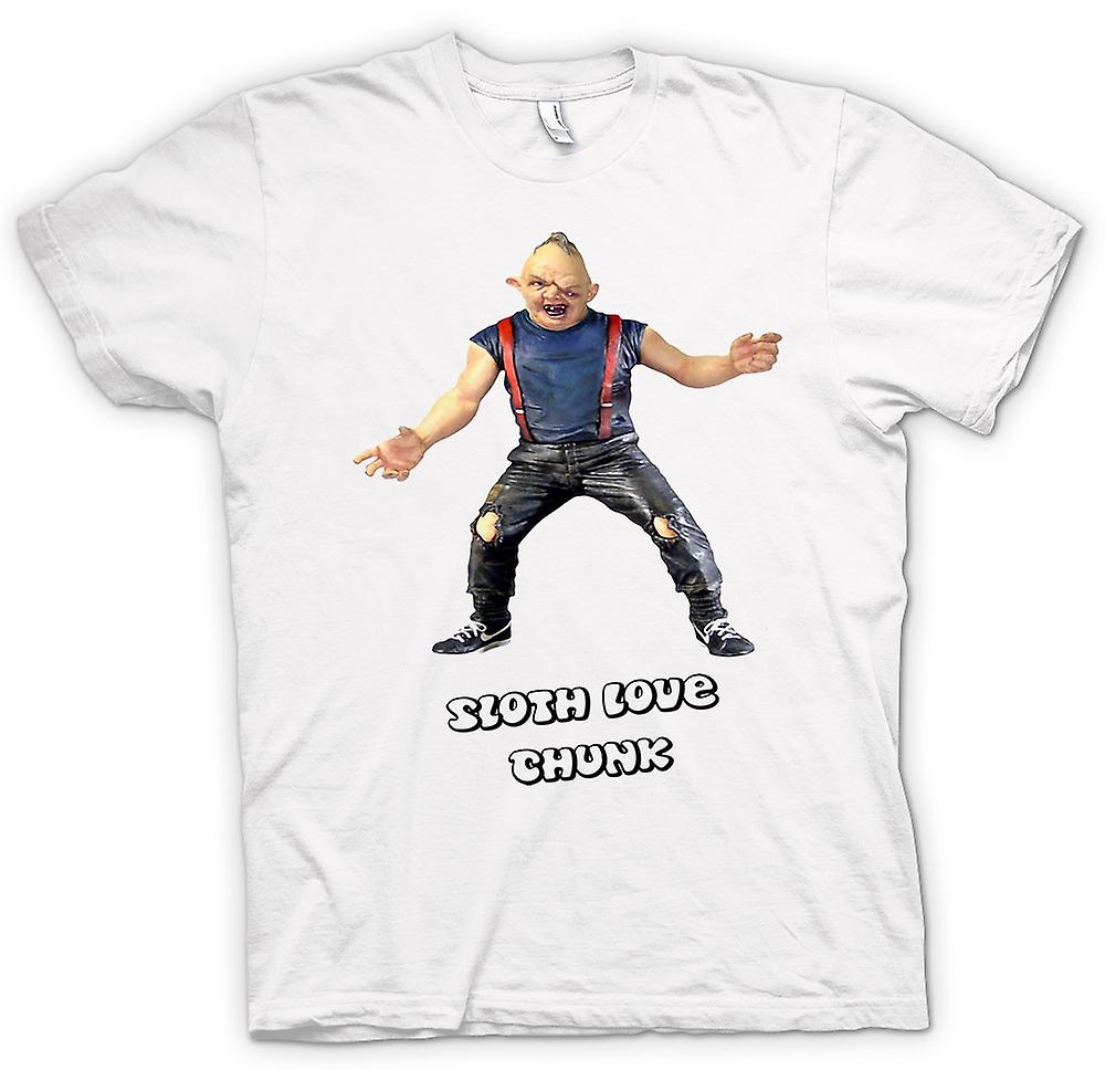 Womens T-shirt - Sloth - Goonies - Love Chunk