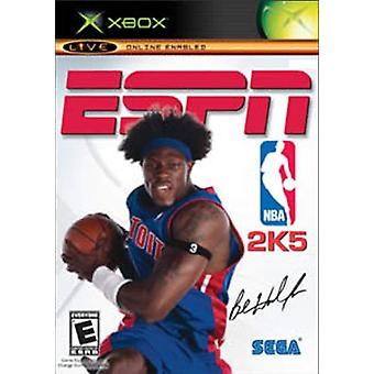 ESPN NBA 2K5 (Xbox) - Factory Sealed