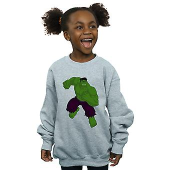 Marvel Girls Hulk Pose Sweatshirt
