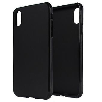 Shiny black shell case for iPhone X