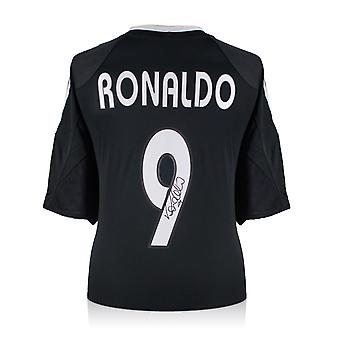 Ronaldo de Lima Signed 2004-05 Real Madrid Away Shirt