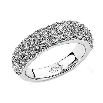 s.Oliver jewel ladies ring silver cubic zirconia SO465