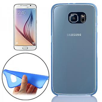 Hardcase Blau 0.3 mm ultra tynn tilfelle for Samsung Galaxy S6 G920 G920F