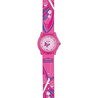 Scout child watch learning classic - pink girl 280309001