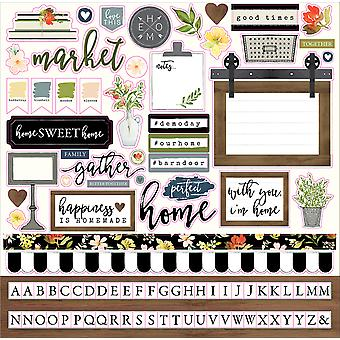 Welcome Home Cardstock Stickers 12
