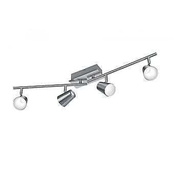 Trio Lighting Narcos Modern Nickel Matt Metal Spot