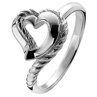 Orphelia sølv 925 Ring hjerte ZR-3933