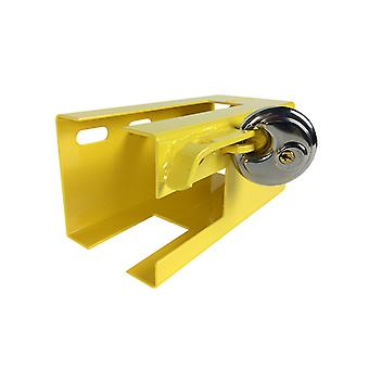 Acciaio Trailer Hitch serratura Caravan serratura universale Trailer Hitch sicurezza Pad Lock
