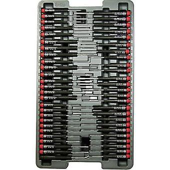 Electrical & precision engineering Screwdriver set 51-piece Wiha Pico Finish Slot, Phillips, Allen, Hex head, TORX sock