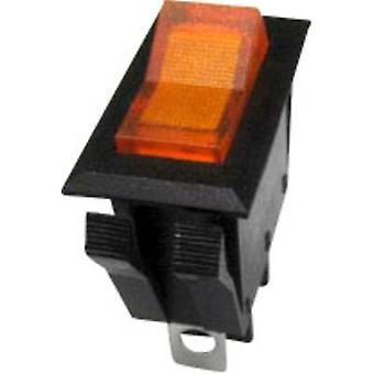 SCI Toggle switch R13-72B-01 250 V AC 10 A 1 x Off/On latch 1 pc(s)