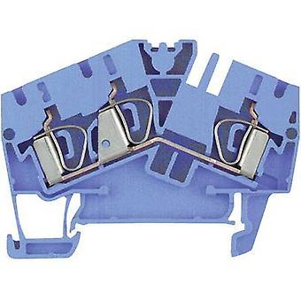 Weidmüller 1706040000 ZDU 2.5-2/3AN BL 0,5 - 2,5 mm² Atoll Blue
