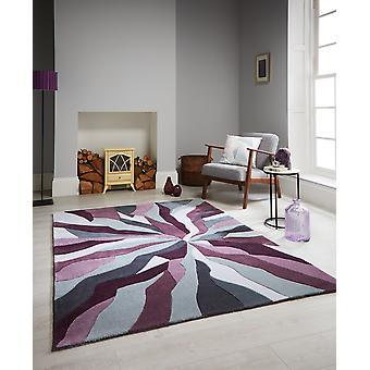 Oneindige bieden Splinter paarse wij ook een soortgelijk verion in een dikke 20mm wol tapijt rechthoek tapijten Funky tapijten