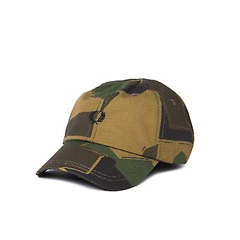 Fred Perry Arktis Woodland Camo Cap