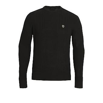 883 POLICE Moment Crew Neck Sweater | Black