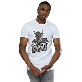 Star Wars mannen Boba Fett skelet T-Shirt