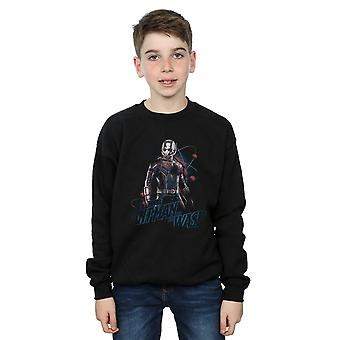 Marvel Boys Ant-Man And The Wasp Lab Pose Sweatshirt
