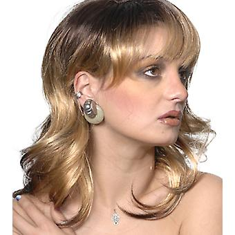 Fashion women medium wavy Shania wig