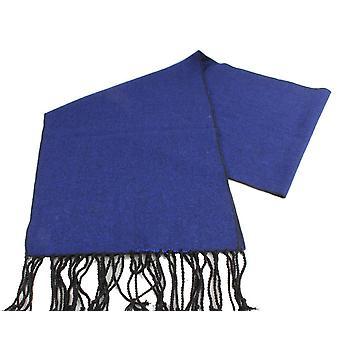 Knightsbridge Neckwear Tweed Wool Scarf - Royal Blue