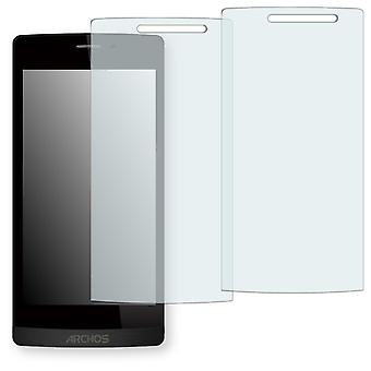 Archos 50 Diamond screen protector - Golebo crystal clear protection film