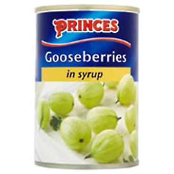 Princes Gooseberries Canned
