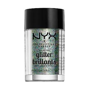 Prof. de NYX maquillage visage & corps Glitter-06 cristal 2,5 g