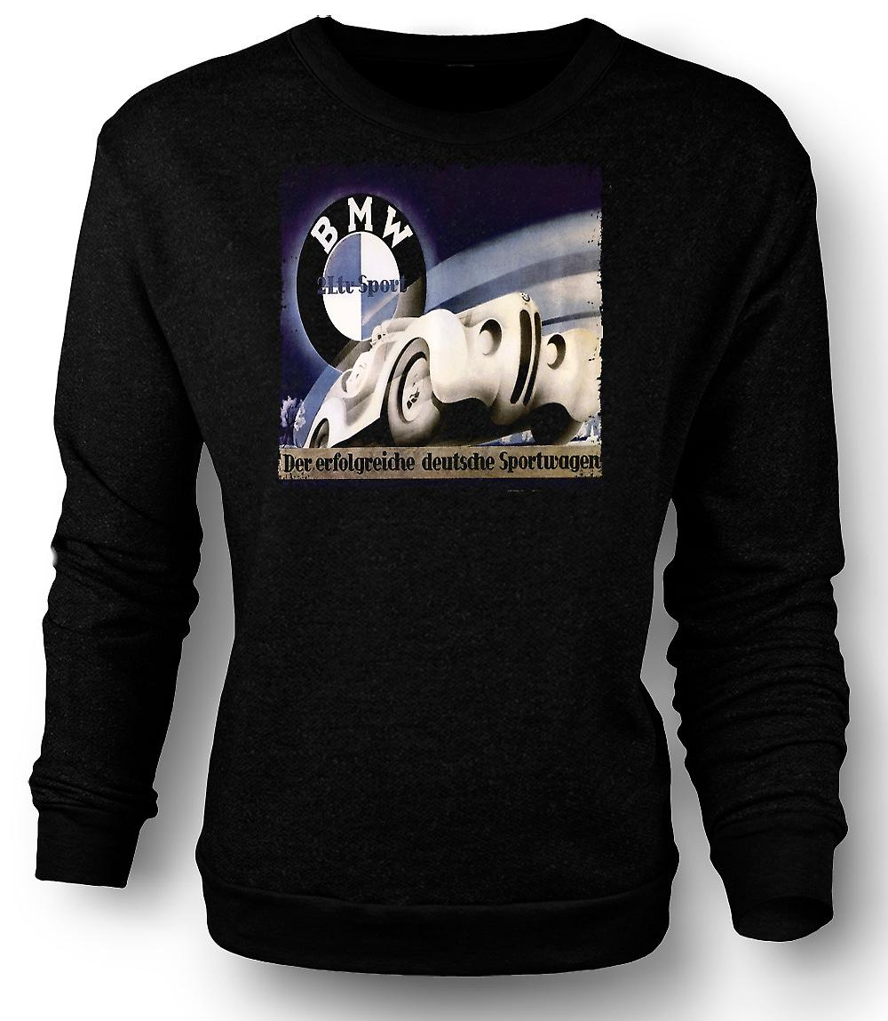 Sweatshirt Mens Doppeldeckzuge Train allemand