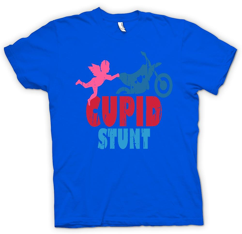 Mens T-shirt - Cupid Stunt - Funny Word Play