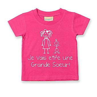 I'm Going To Be A Big Sister French Tshirt Je Vais  tre Grande Soeur
