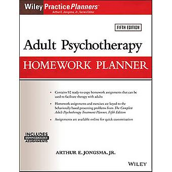 Adult Psychotherapy Homework Planner (5th Revised edition) by Arthur