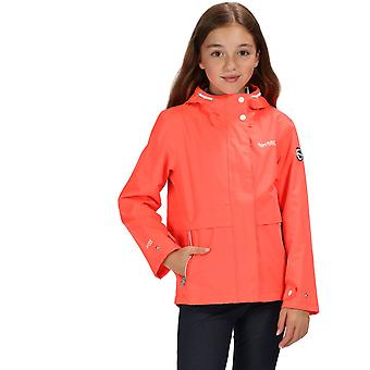 Regatta Girls Bambalina Waterproof Hooded Jacket Coat