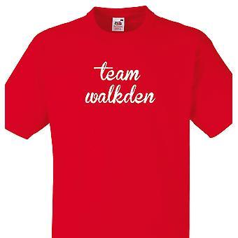 Team Walkden Red T shirt