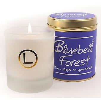 Lily vlam geurende glaswerk Candle - Bluebell Forest