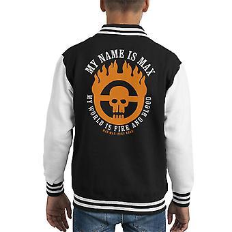 Mad Max Fury Road Opening lijnen Kid's Varsity Jacket