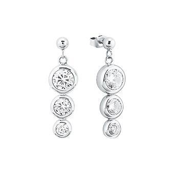 s.Oliver jewel ladies earrings silver cubic zirconia 2024222
